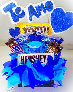 Gift Baskets, Gifts For Friends, Oreo, Girl Birthday, Birthday Candles, Valentines Day, Daisy, Baby Shower, Flowers