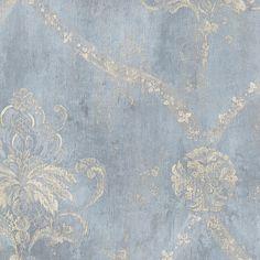 "Norwall Wallcoverings Inc Grand Chateau 32.7' x 20.5"" Regal Damask Wallpaper"