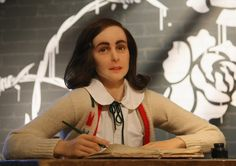 Anne Frank Wax Figure at Madame Tussauds