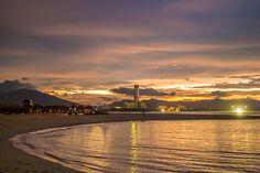 Escape from the mega city to Sanya! Stroll around the #beach and listen to the sound of gentle #waves instead of noisy cars. #Sanya #China #Whererefreshingbegins #Coast #Sunset. #sanyarepin #sanyaheartstohearts