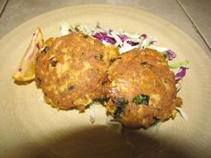 Salmon Cakes with Homemade Ginger Mayo
