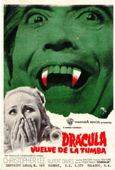 Dracula Has Risen from the Grave (1968), apparently influenced by the Great Pumpkin.