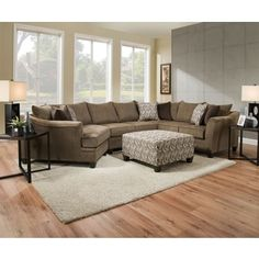 Reclining Sofa Costco Carmen Fabric Sectional and Ottoman Ideas for the House Pinterest Fabric sectional Ottomans and Living rooms