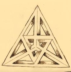 2 Ways to Draw an Impossible Triangle - wikiHow OK... I AM GOING TO TRY THIS, NOT JUST BECAUSE I AM AN ESCHER FAN...IT IS A CHALLENGE, OUTSIDE MY BOX