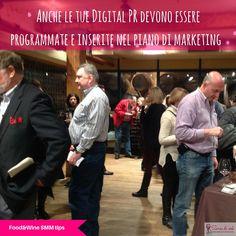 """Food & Wine #SMMTip """"Anche le tue Digital PR devono essere programmate e inserite nel piano di marketing."""""""