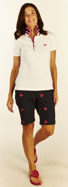 "B Bermuda Short - ""Meant to Bee"" #BTheCollection #Summer #bermudashorts"