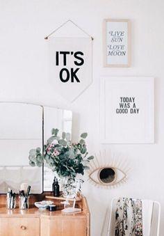 It's OK Banner | Secret Holiday & Co on Etsy