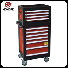 Heavy Duty Tool Trolley Cabinet On 5u0027u0027 Wheels