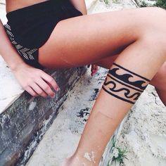 Wave // tattoo (Pinterest: @OneTribeApparel)