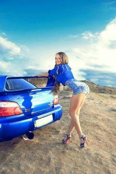 #Subaru_WRX_STi #AutoGirls