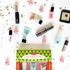 Hello tempting fun-size teasers! Will be using these for stocking stuffers :) #benefitbeauty