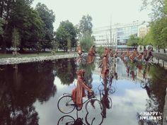 Orebro Sweden. Open art