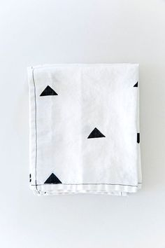 Everyone's Getting Married; Here's What To Buy Them  #refinery29  http://www.refinery29.com/wedding-presents#slide7  Linen napkins are a true sign that you're in the presence of an adult.  The triangles and top-stitching on these make that a very stylish adult.