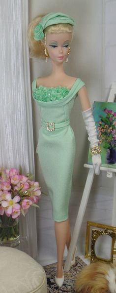 Ming Celadon for Silkstone Barbie and Victoire Roux on Etsy now