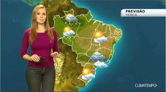 Previsão Brasil - Instabilidade aumenta e volta a chover forte em Salvador