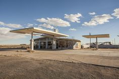 'gas station.' by stevenbley