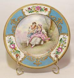 Limoges Porcelain Plate.