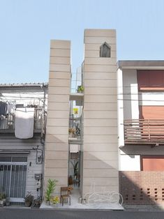 The skinniest house in Tokyo [大きなすきまのある生活] - オンデザイン@いまどきの仕事