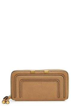 Chloé 'Marcie - Long' Zip Around Wallet available at #Nordstrom