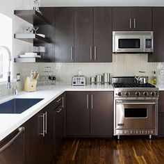 cheap small kitchen remodel - Bing Images