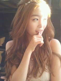 A bit too light for me but still cool to see lighter colors work with asians <3 #sunhwa #fairy