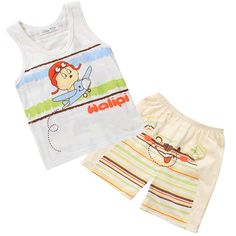 Aliexpress.com : Buy 2013 Sunlun Wholesale Child summer cotton short sleeve  shorts set male vest shorts summer infant clothes on Sunlun Wholesale And Retail Center. $14.64