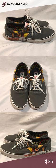 Vans Marvel Comics Wolverine edition shoes Used. Vans Marvel Comics Wolverine edition shoes Men's size 10 Vans Shoes Sneakers
