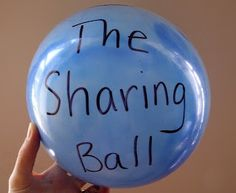 Teach kids to share with The Sharing Ball!