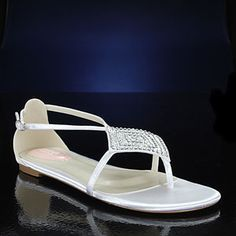 $80 Flat wedding shoes