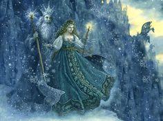 "Ruth Sanderson «The Snow Princess» | ""Картинки и разговоры"""