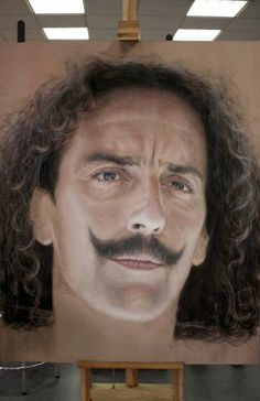 Diego Velazquez by ~Benbe {aka Ruben Bellosos} on deviantART ~ hyper-realistic art Portrait Au Crayon, Pencil Portrait, City Painting, Painting & Drawing, Pinturas Em Tom Pastel, Rubens Paintings, Oil Paintings, Portraits Pastel, Diego Velazquez
