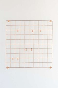Slide View: 2: Wire Wall Square Grid