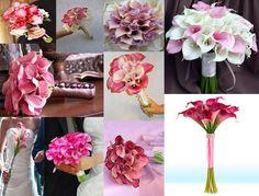 7 Kwiatów - blog o kwiatach i florystyce ślubnej: Bukiet ślubny z kalii - kwiatu arystokracji