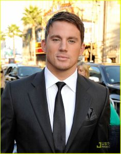 Channing Tatum. From this picture alone I think he should be considered to play Christian Grey!