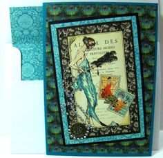 """Graphic 45 """"Couture"""" card"""