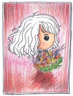 《公主》我也想和這些花朵一樣燦爛 但卻 不凋零