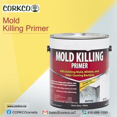 Corkco gives you the best mold killing primer in CANADA. Also Corkco available at anytime to make your construction work easy. Building Construction Materials, Vancouver, Canada, Easy
