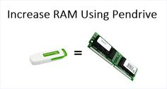 How To Use Pendrive As RAM In Windows PC - 2015