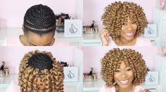 TUTORIAL: Weaves /Crochet braids/ Wigs on Pinterest Quick Weave ...