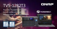 QNAP Apresenta Novo NAS TVS-1282T3 Thunderbolt 3