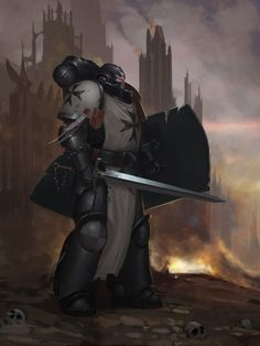 Black Templars,Чёрные Храмовники,Space Marine,Adeptus Astartes,Imperium,Империум,Warhammer 40000,warhammer40000, warhammer40k, warhammer 40k, ваха, сорокотысячник,фэндомы,Advisorium,Primaris Space Marine