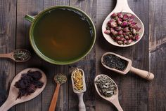 5 healthiest teas -- Do you enjoy tea for its flavor or the soothing feeling brought by holding a steaming cup? In this Spotlight, we tell you which brews are best for health. Best Herbal Tea, Best Tea, Hibiscus Rose, Turmeric Tea, Berry, Peppermint Tea, Antioxidant Vitamins, Oolong Tea, Tea Blends