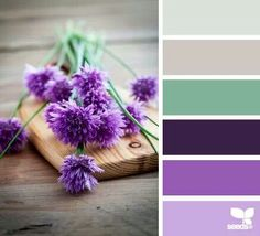 I LOVE the green and purple!