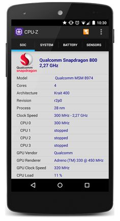 Apklio - Apk for Android: CPU-Z Premium 1.18 Apk