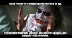 Nobody dies during football games!