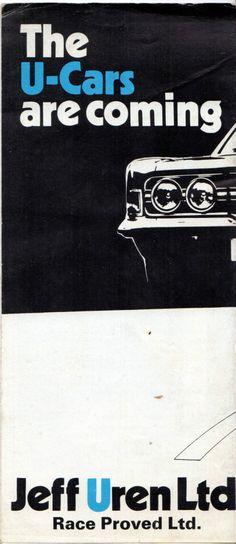 Uren Apache Cheetah Savage Commanche 1971 Brochure Escort Cortina Capri Transit