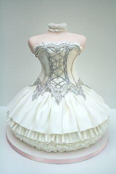 Special Cake Design Ballet Dress ♥ Tea Party Unique, douche nuptiale de douche…
