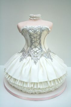 Special Ballet Dress Cake Design ♥ Unique Tea Party, Bridal Shower or  Wedding Shower Cake Ideas @Andrea / FICTILIS okonkwo