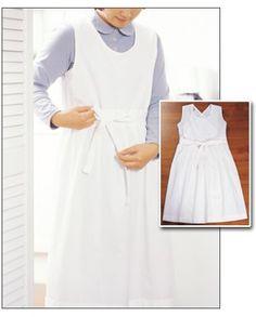 장금이 앞치마 만들기 : 네이버 카페 Sewing Lessons, Diy Fashion, Dress Patterns, Asian Beauty, Diy And Crafts, Cold Shoulder Dress, White Dress, Female, How To Make