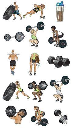 150 CrossFit ideas in 2021 | crossfit, double unders, muscle up
